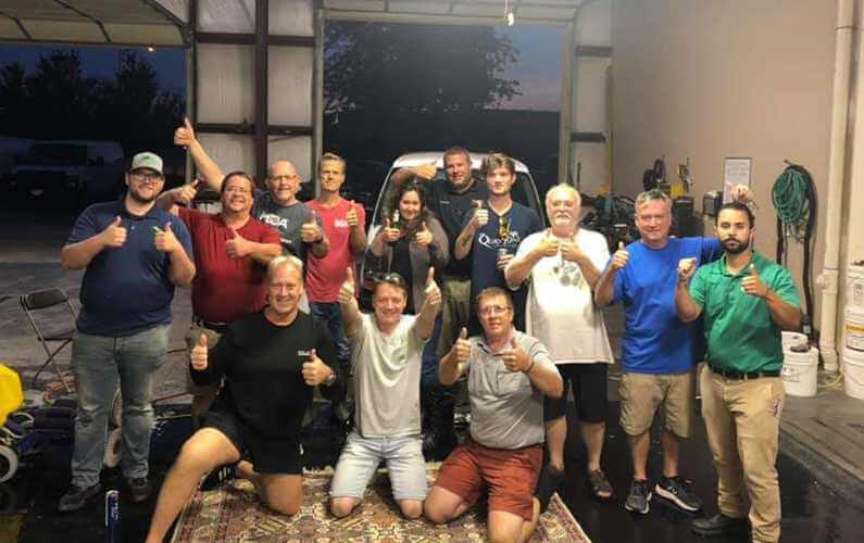 Omaha Rug Class Group Photo 2020