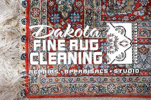 Dakota Fine Rug Cleaning - Rug and Logo